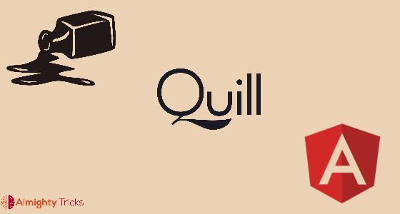 code highlighting ngx-quill